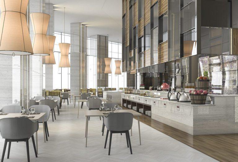 Kiến trúc khách sạn, nhà hàng, spa