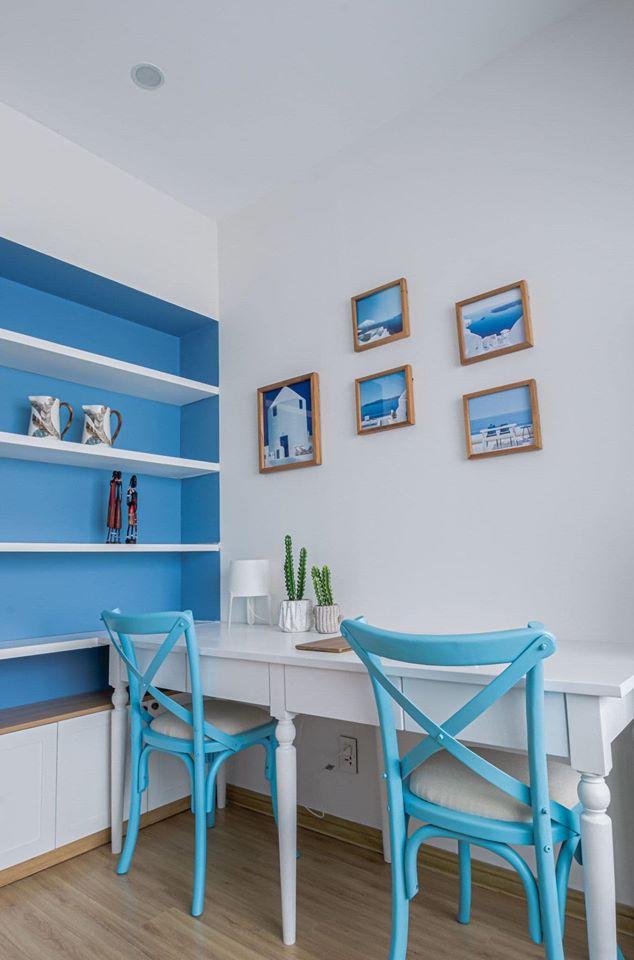 Thiết kế, thi công homestay phong cách Santorini (Nha Trang)